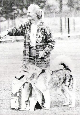 Ch. Kara of Keema's Wolf Pak